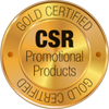 CSR Promotional Products-certificaat GOLD
