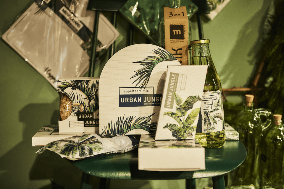 xmaspresents urban jungle kerstpakket